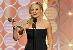 Amy Poehler had one of the more coherent speeches of the night