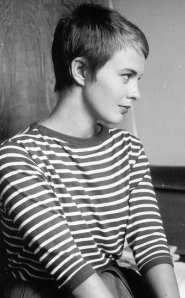 Jean Seberg, the French New Wave goddess Ruth seeks to emulate most of all.