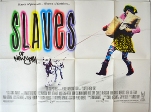 Movie poster for Slaves of New York