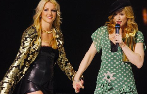 In the days of the Madonna/Britney alliance