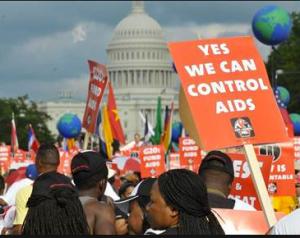 AIDS: A true source of terror in '85.