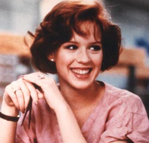 As Claire Standish in The Breakfast Club