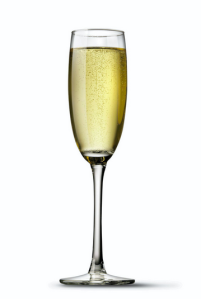 Champagne--with an extra kick.