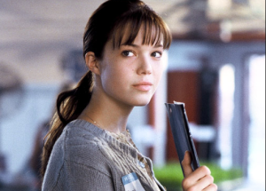 "Moore, playing the ""nerd"" in A Walk to Remember"