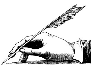 Writers deserve the arthritic, fucked up hands that come with excessive use of a quill pen.