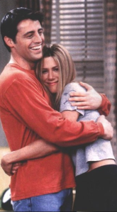 That weird time she was into Joey just because he was there.