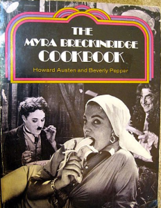 So influential is Myra that she even inspired a cookbook.