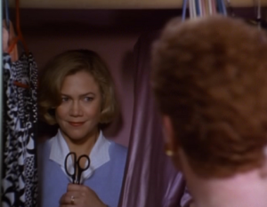 Upping the ante on creepiness: Kathleen Turner in Serial Mom