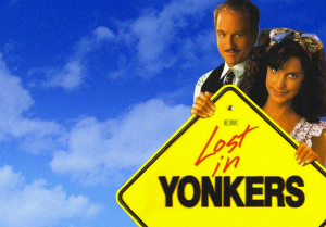 Promotional poster for Lost in Yonkers