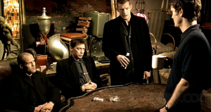 The cast of Lock, Stock and Two Smoking Barrels