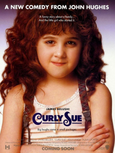 Promotional poster for Curly Sue