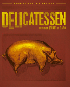 Promotional poster for Delicatessen