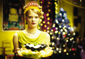 Martha Plimpton as the host of what she assumes will be a terrible New Year's party
