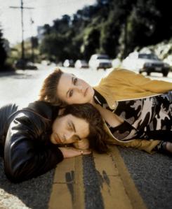 Alicia Silverstone and Benicio Del Toro exuding 90s angst.