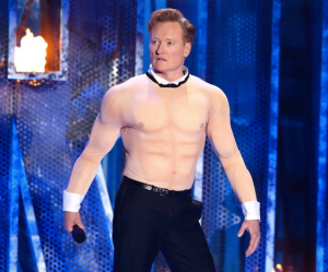 Your 2014 host, Conan O'Brien