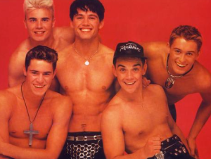 During his time in Take That